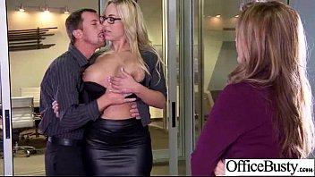 Sex Tape With Huge Melon Juggs Slut Office Girl (julia olivia) clip-23