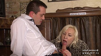 Naughty french mature hard sodomized in a bar w cum 2 mouth thumbnail