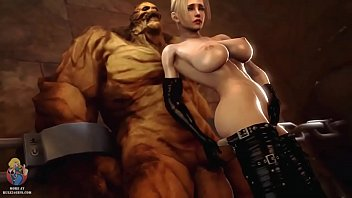 Rachel Fucked by Monster Cock in Dungeon - Dead or Alive DOA (Rule 34)