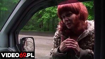 Polskie porno - Gorące usta rudej mamuśki