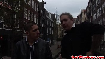 Real dutch hooker pussypounded before cumshot