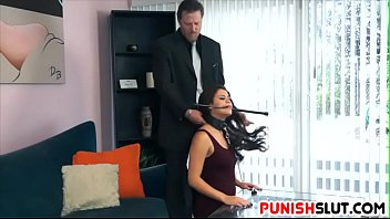 Disobedient Slut Given Rough Lesson For Speaking Out of Turn
