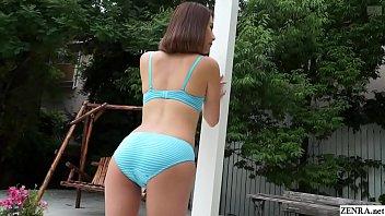 Japanese Beautiful Outdoor Striptease Ian Hanasaki