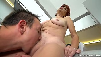 Saggy Titted Nasty Grandma