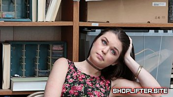 Security File 7485689 For Busted Shoplifting Girl Anastasia Rose