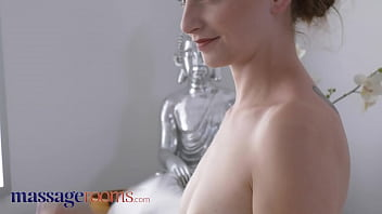 Massage Rooms Pretty petite Czech girl Lady Bug multiple orgasms with health spa co-worker