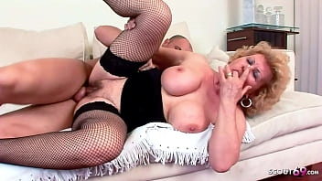 BIG TITS OLD GRANNY ROUGH SEX WITH YOUNG STEP GRAND SON