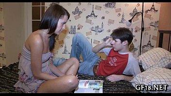 HOT RICH BITCH IN UNIFORM SEDUCES HER SCHOOL FRIEND