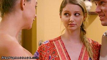 Nurumassage Chanel Preston Helps Young Couple Loosen Up
