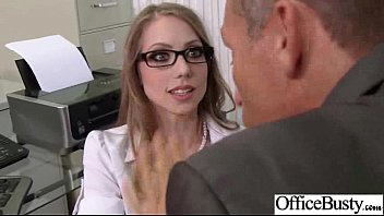(shawna lenee) Busty Slut Office Girl Like Hardcore Sex mov-29