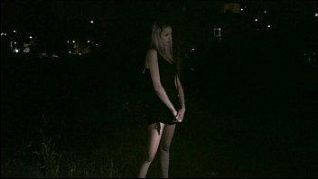 Hot star Kitty Jane interview before PUBLIC gangbang through car window 11 min