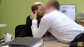 LOAN4K. Credit agent has a crush on his young client and uses her
