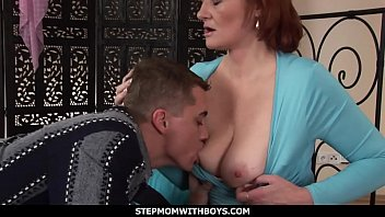 StepmomWithBoys - Mature Ginger Gets Boned By Horny Stepson