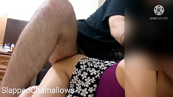 I got fucked from behind, then took huge cumshot on my ass cheeks !