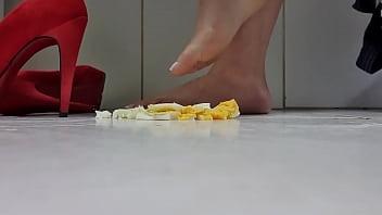 Feet Crush Food