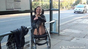 British porn site reviews - Paraprincess public nudity and handicapped pornstar flashing