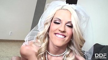 Beautiful Blonde Bride Blanche Bradburry Gives A Mind-blowing POV Blowjob