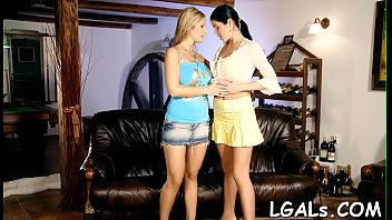 Horny legal age teenager angel stands in various positions getting fisted