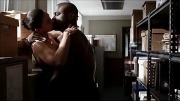 Emmanuelle chriqui breast implants Taye diggs bangs emmanuelle chriqui in backroom murder in the first sex scene