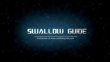 Miya Stone's Retarded Blowjob And First Swallow Scene