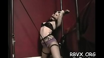 Bondage mode bekleidung - Fashionable young girl gets her first bondage experience