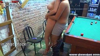 Danna Hot Apostando El Culo En Un Juego De Billar 16 Min