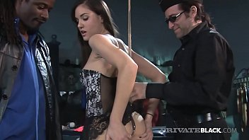 Bondage video stocks - Bdsm with hot young sasha grey a big black cock