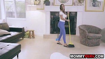 Mom prepares step son for job interview - pov blowjob thumbnail