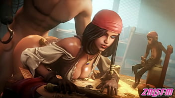 Pirated hentai - Neith pirate doggystyle