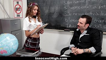 The cam voice sex cams team - Innocenthigh - petite schoolgirl banged in the classroom