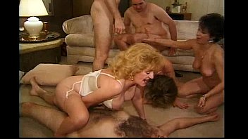Kitty Foxx Big Orgy with matures