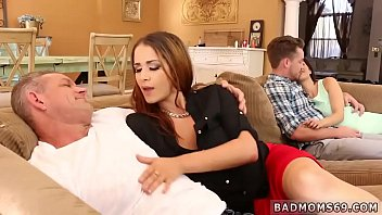 Milf finger his ass and mom with chum's step sister first time Share
