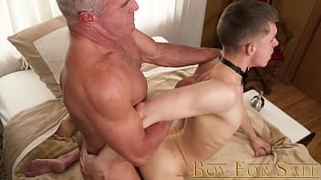 """BoyforSale - Twink gets banaged hard by his master after passionate BJ <span class=""""duration"""">10 min</span>"""