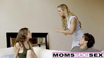 MomsTeachSex - My BF Caught & Punished By Step-Mom