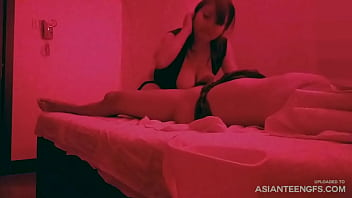 (hidden camera) Asian massage, blowjob and sex