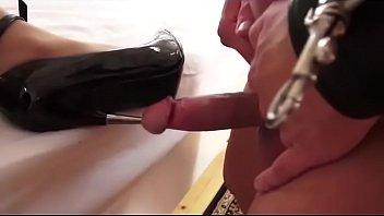 heel fuck to urethra