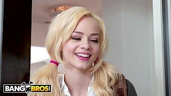 BANGBROS - Young Elsa Jean's MILF Stepmom Phoenix Marie Is In Control
