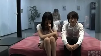 Japanese mirror blowjob Step brother sister sex for money challenge while mom is around