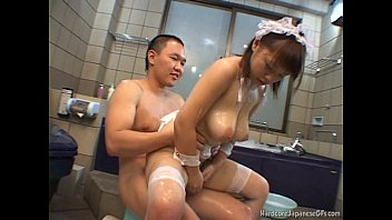 Busty Japanese Cutie Banged In The Tub