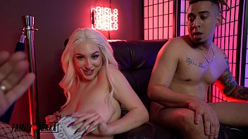 Amateur Boxxx - Skylar Vox Fucks her NEW Step-Bro at StripClub