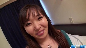 Busty Haruka Ohsawa rides cock like a true angel
