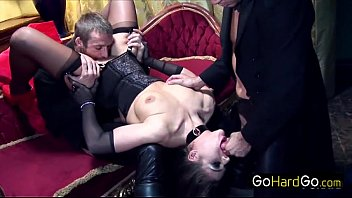 Cathy Heaven Cathy gets her asshole mugged porn HD preview image