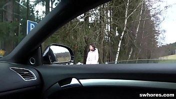 Mature Street Slut Gets A Heavy Load In Pov