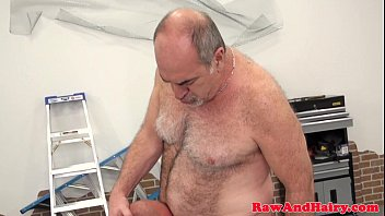 Silver videos gay - Silver wolf fucks bearded bear raw