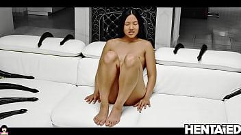 Alien Porn | Sweet Asian Teen & Huge Black Dildos  | May Thai