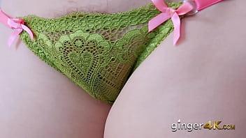 Chubby Slutty ginger Edyn Blair hairy pussy