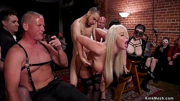 Slaves Anal Fisted And Fucked In Orgy