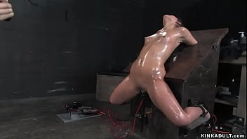 Bound Slave Hot Ass Spanked