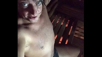 Fucking Sexy Bitch Boy in Hot Sexy Sauna