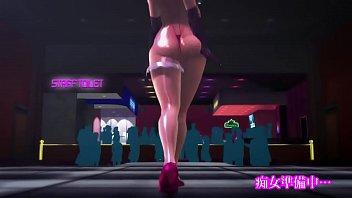 MMD Hentai cutie Hardcore Sex 2 min